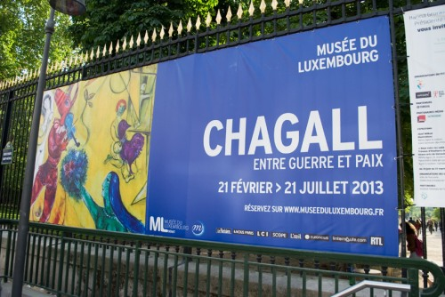 Chagall au musée du Luxembourg